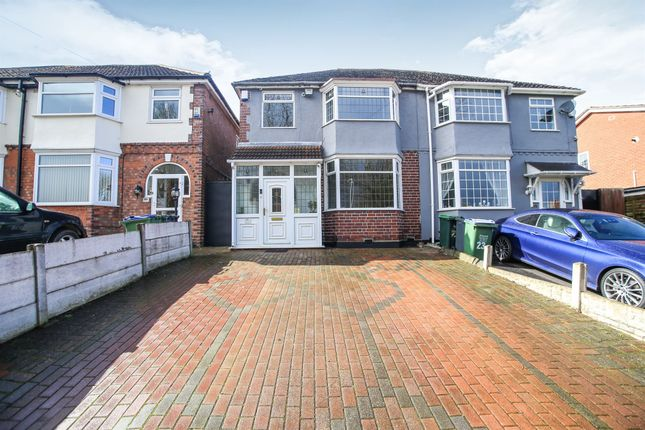 Thumbnail Semi-detached house for sale in Little Moor Hill, Smethwick
