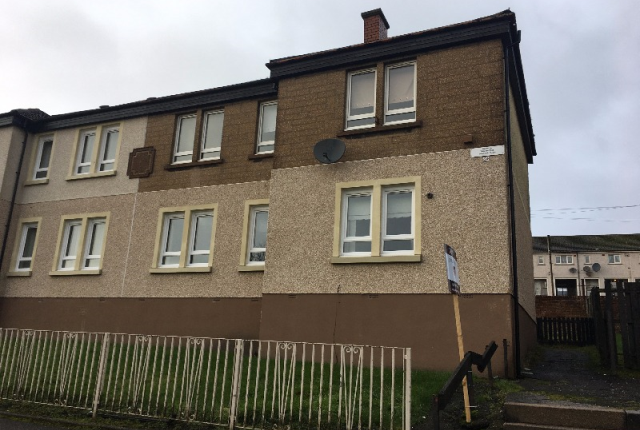 Thumbnail Flat to rent in West Kirk Street, Airdrie, North Lanarkshire, 0Bx