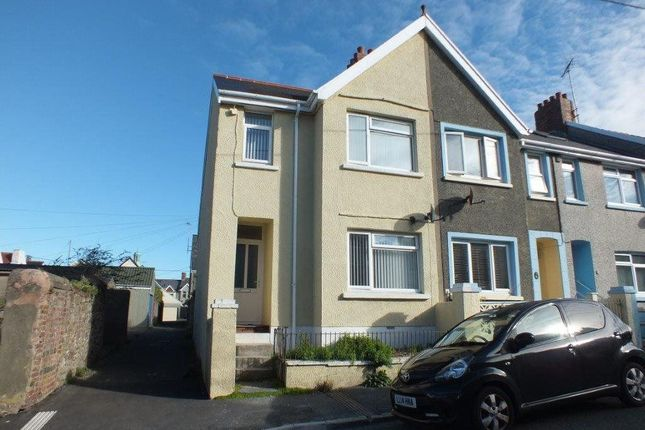 Thumbnail Semi-detached house to rent in Dartmouth Gardens, Milford Haven, Pembrokeshire