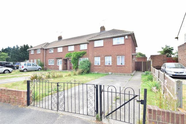 Thumbnail End terrace house for sale in Queensway, Sheerness, Kent