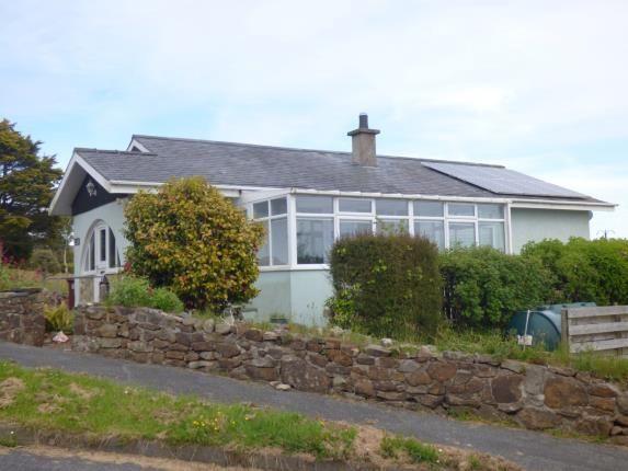 Thumbnail Bungalow for sale in Pen Y Bryn Estate, Mynytho, Pwllheli, Gwynedd