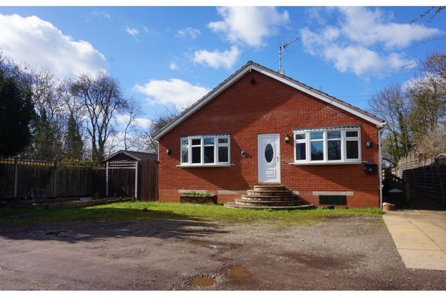 Thumbnail Detached bungalow for sale in West Street, Glenfield, Leicester