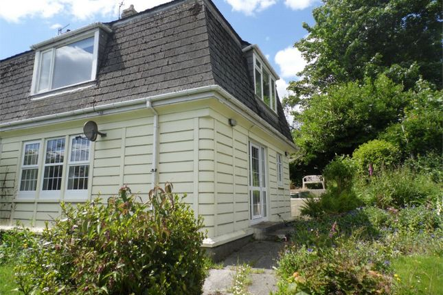 Thumbnail Semi-detached house to rent in Meneage Villas, St Austell, Cornwall