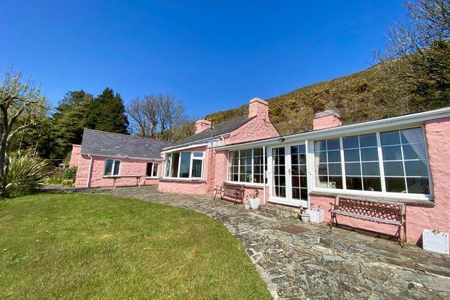 Thumbnail Detached bungalow for sale in Quarry Lane, Llanbedrog, Pwllheli