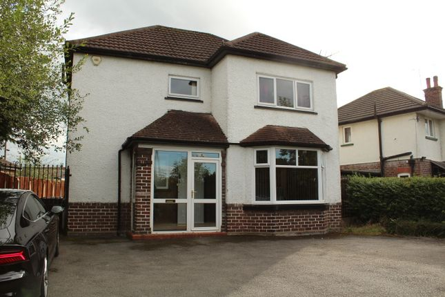 Thumbnail Detached house to rent in Crewe Road, Wistaston, Crewe, Cheshire