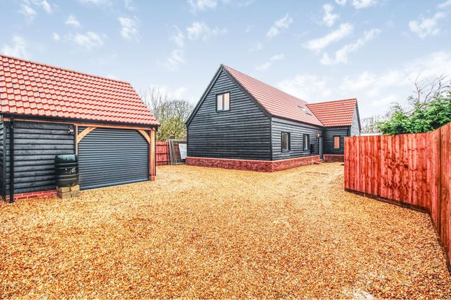 Thumbnail Detached house for sale in Highfields Road, Caldecote, Cambridge