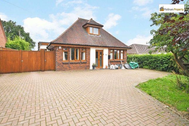 Thumbnail Detached bungalow for sale in Grindley Lane, Meir Heath