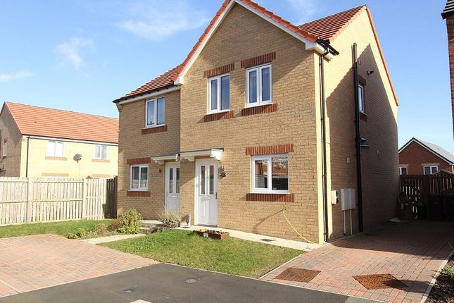 Thumbnail Semi-detached house for sale in Viscount Close, Stanley, Durham