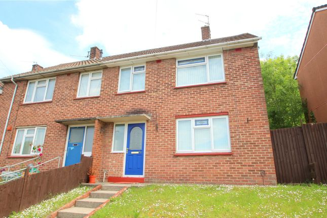 Thumbnail End terrace house for sale in Redford Crescent, Highridge, Bristol