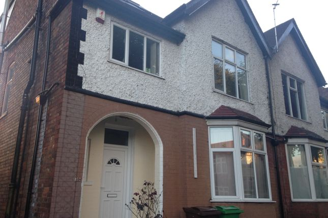 Thumbnail Terraced house to rent in Harlaxton Drive, Nottingham