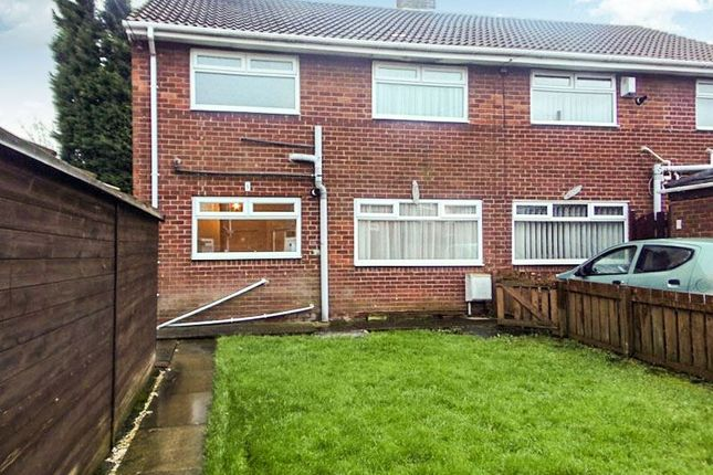 Thumbnail Semi-detached house to rent in Victoria Terrace, Bedlington