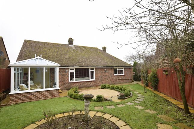 Thumbnail Detached bungalow for sale in Rowan Gardens, Bexhill, East Sussex