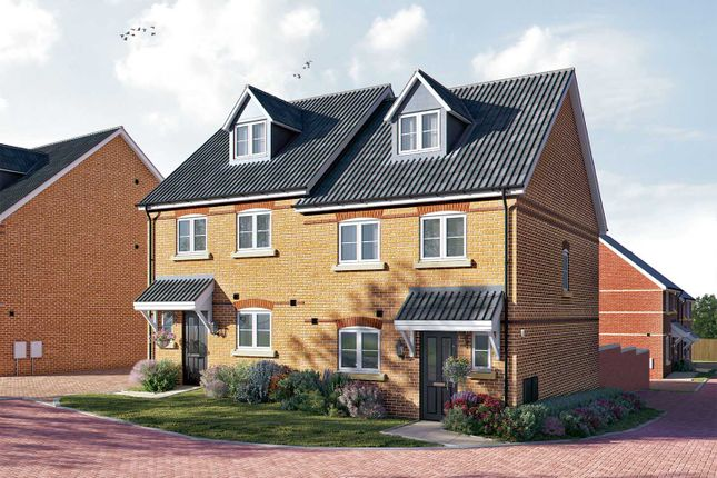 """4 bed semi-detached house for sale in """"The Aslin"""" at Cromwell Way, Royston SG8"""
