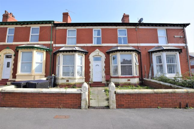 Thumbnail Terraced house for sale in Sherbourne Road, Blackpool