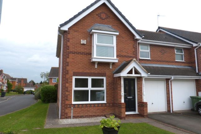 Thumbnail Semi-detached house to rent in Calder Close, Droitwich