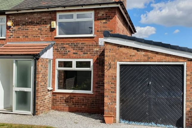 Thumbnail Semi-detached house to rent in Grindall Avenue, Moston, Manchester