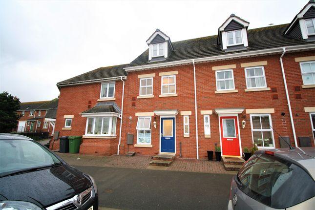 Thumbnail Terraced house to rent in Powlesland Road, Alphington, Exeter, Devon