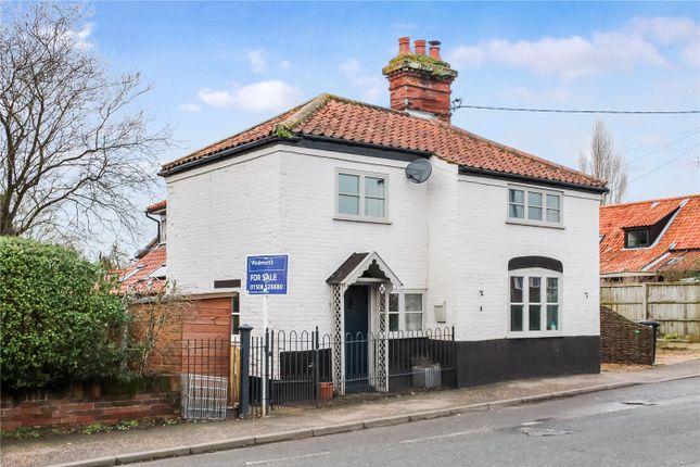 Thumbnail Semi-detached house for sale in Norwich Road, Brooke, Norwich, Norfolk