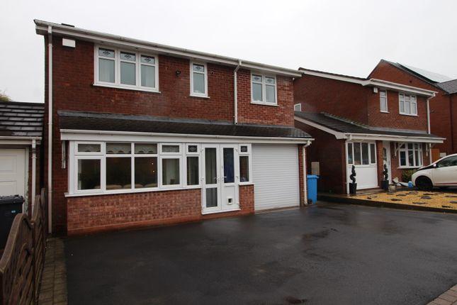 Thumbnail Detached house for sale in Rosewood Gardens, Essington, Wolverhampton
