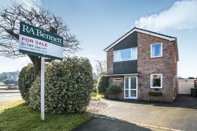 Thumbnail Detached house for sale in Blackthorn Road, Stratford-Upon-Avon