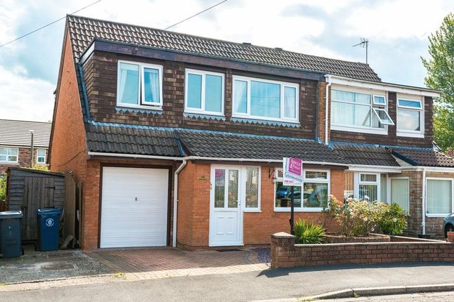 Thumbnail Semi-detached house for sale in Manor Avenue, Burscough, Ormskirk