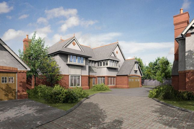 Thumbnail Detached house for sale in Newcourt Gardens, Solihull