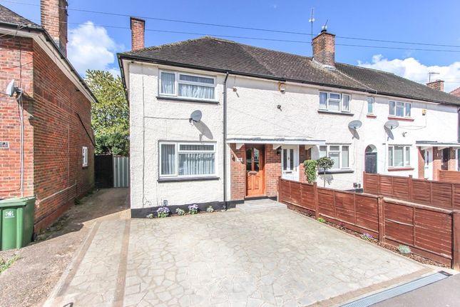 Thumbnail End terrace house for sale in Rushton Avenue, Watford