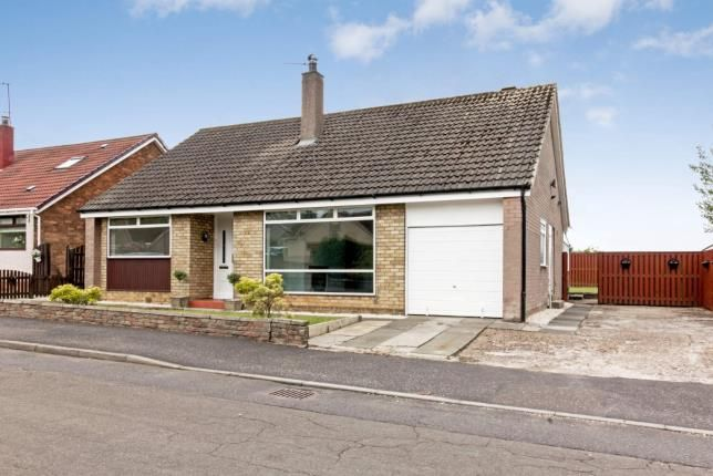 Thumbnail Bungalow for sale in Hillview Crescent, Uddingston, Glasgow, North Lanarkshire