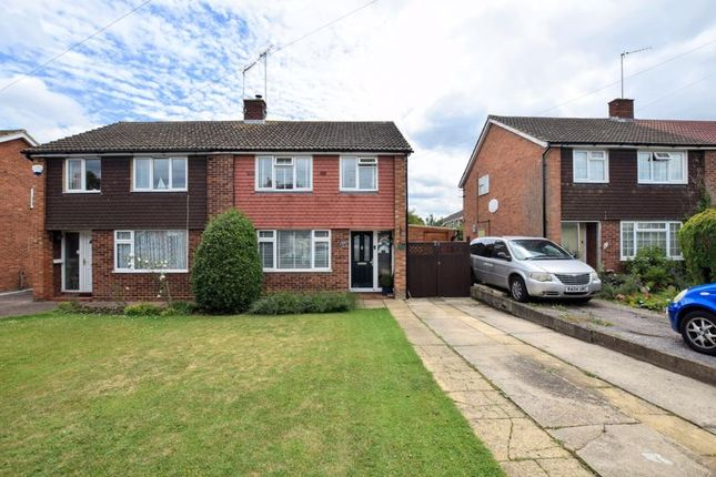 Semi-detached house for sale in Welbeck Avenue, Aylesbury