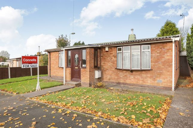 Thumbnail Detached bungalow for sale in Alleston Road, Bushbury, Wolverhampton