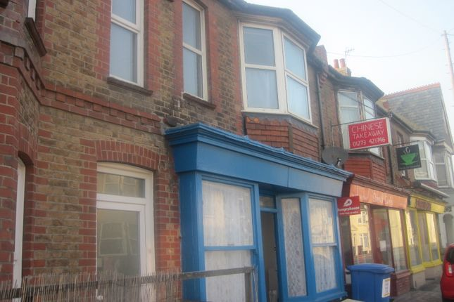 Thumbnail Terraced house to rent in Church Road, Portslade, Brighton
