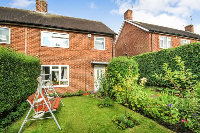 Thumbnail Semi-detached house for sale in Adderley Close, Bestwood, Nottingham