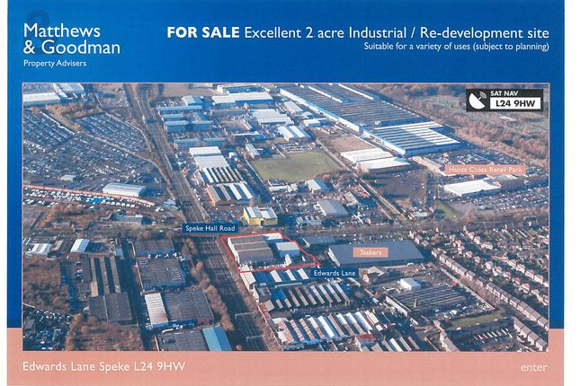Thumbnail Land to let in Edwards Lane, Liverpool