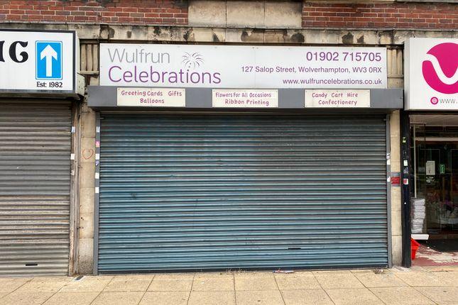 Thumbnail Retail premises to let in Salop Street, Wolverhampton