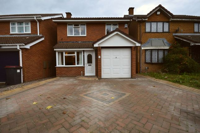 Thumbnail Detached house for sale in Elderberry Close, The Rock, Telford