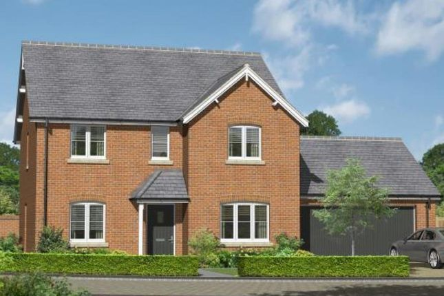 Thumbnail Detached house for sale in Willey Road, Stoke St. Gregory, Taunton