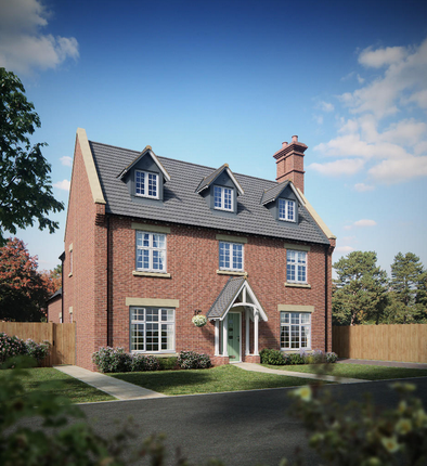 Thumbnail Detached house for sale in Strancliffe Gardens, Cotes Road, Barrow Upon Soar, Loughborough