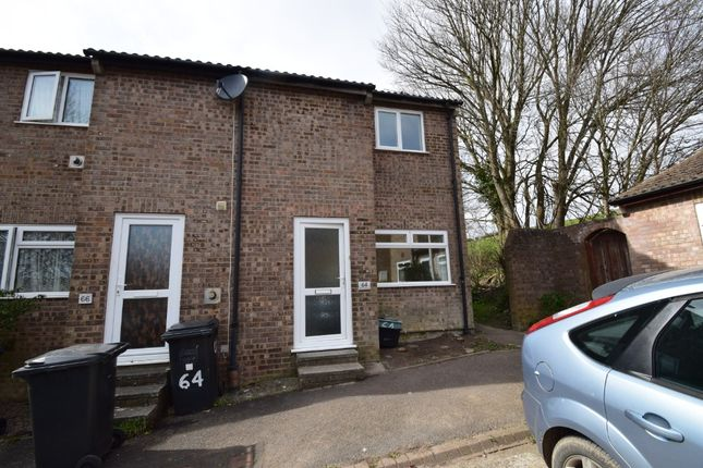 Thumbnail Terraced house to rent in Barton Road, Whiddon Valley, Barnstaple