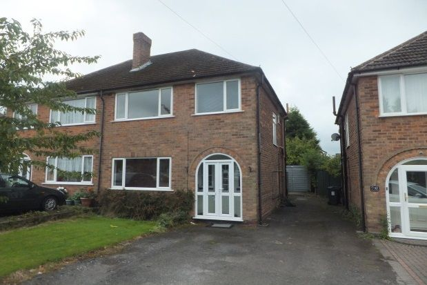 Thumbnail Semi-detached house to rent in Vincent Road, Sutton Coldfield