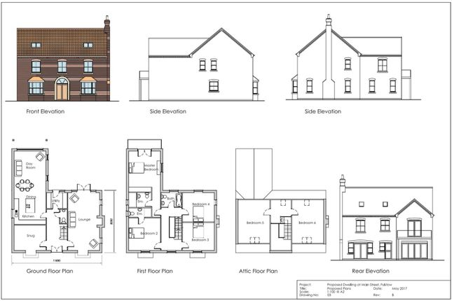 Thumbnail Detached house for sale in Main Street, Fulstow, Louth