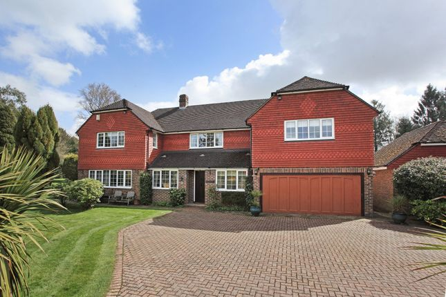 Thumbnail Detached house for sale in The Drive, Maresfield Park, Uckfield, East Sussex