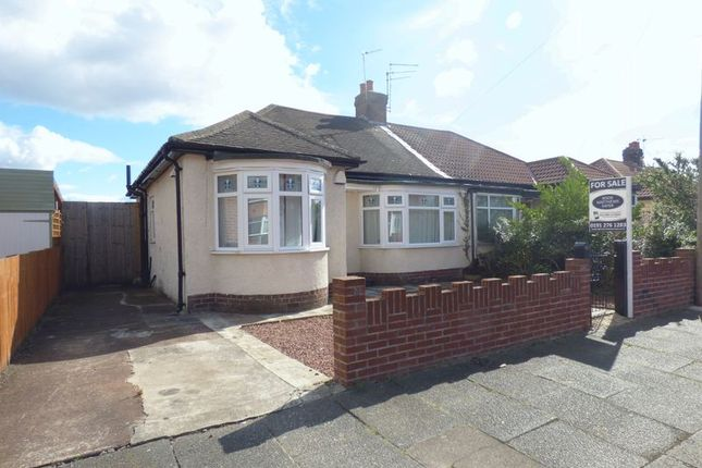 Thumbnail Bungalow for sale in Addycombe Terrace, North Heaton, Newcastle Upon Tyne