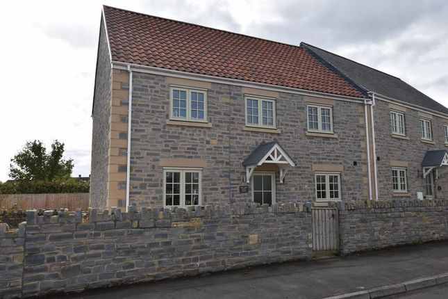 Thumbnail Semi-detached house for sale in West End, Somerton