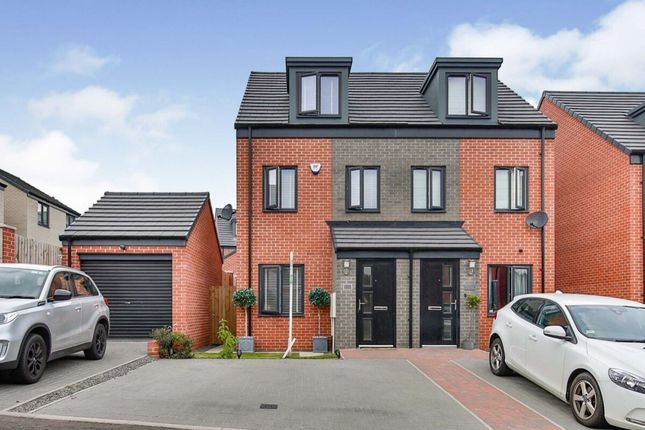 Thumbnail Semi-detached house for sale in Porter Close, Aykley Heads, Durham