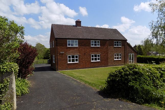 Thumbnail 4 bed property to rent in Hales Green, Yeaveley, Ashbourne
