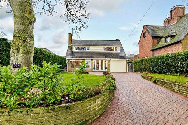 Thumbnail Detached bungalow for sale in Station Road, Great Wyrley, Walsall, Staffordshire