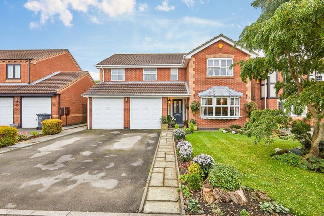 Thumbnail Detached house for sale in Postern Road, Tatenhill, Burton-On-Trent