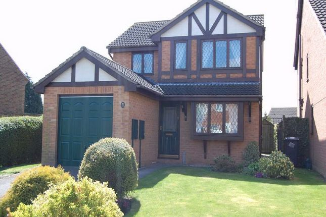 Thumbnail Detached house to rent in The Crescent, Stanley Common, Ilkeston, Derbyshire