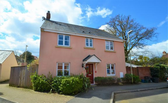 Thumbnail Semi-detached house for sale in Redvers Way, Tiverton