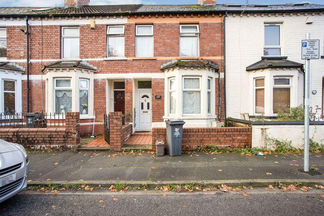 Thumbnail End terrace house for sale in Blackweir Terrace, Cathays, Cardiff